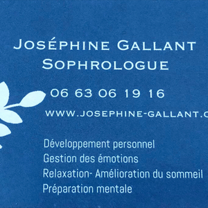 Josephine Gallant Maisons-Alfort, Sophrologue